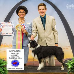 2016 MASCUSA Nationals Best Junior Handler #3 MAS Junior Handler