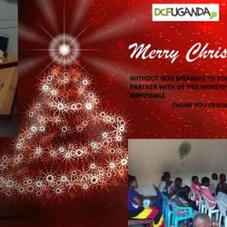 Christmas Card sent to Living Sacrifice Ministries by DCFUganda