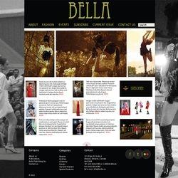 Fashion Website Prototype