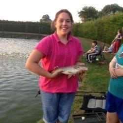 Fishing - 04 September 2013 Hannah