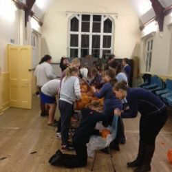 Wednesday 16 October - Pumpkin Carving with the Seniors