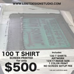 Silk Screening, Brooklyn Ny