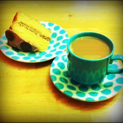 Tea and cake are an important part of the writing process...