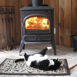 "Toasty warm ""Aaaaah ... that's the stuff ..."""