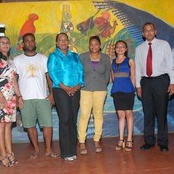 Participants of the Loyola Film Festival