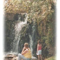 Tullydermot waterfall