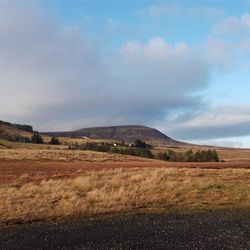 View of Cuilcagh from Drumcask