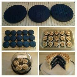 Maryetta's Royal Blue Velvet Cake $32.10
