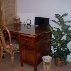 antique Koa desk