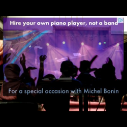 HIRE YOUR OWN PIANO PLAYER
