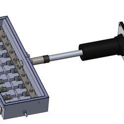 Full bioreactor model in Solidworks