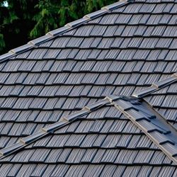 Metal Slate Shingle Roof