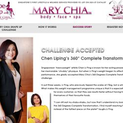 Mary Chia Website