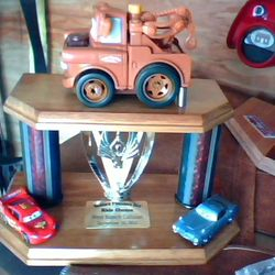 Trophy from a previous year
