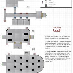 Sci-Fi Modular Isometric Floorplan