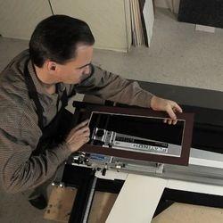 Cutting a mat board