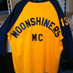Moonshiners MC current racing jersey