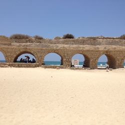 Roman Aqueducts in Israel