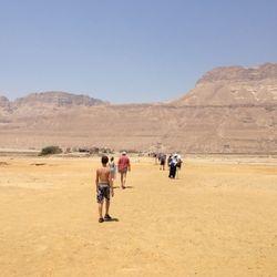Leaving the Dead Sea