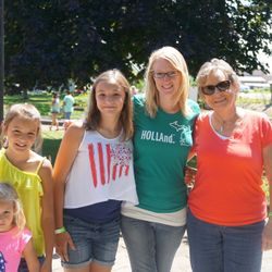 My mom and nieces.