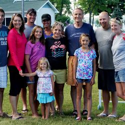 Here's my mom and dad and family!  I have two older brothers.