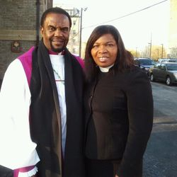Our Senior Pastors, Bishop and First Lady Mullings