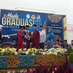Tokoh Pelajar Terbaik Kokurikulum 2017 Muhammad Shahrani Mohd Zubir