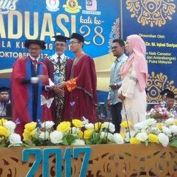 Tokoh Pelajar Terbaik Akademik 2017 Muhammad Hilmi Khalid