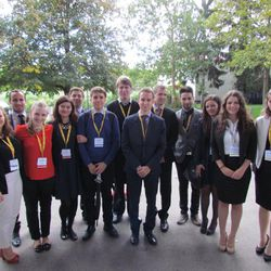 MUNC delegation at SIMUN 2014