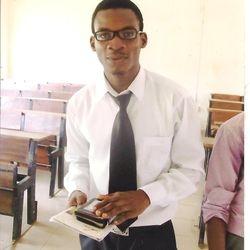 "Adegbulu Paul Ayodele In his Youth days ""USTI days"""