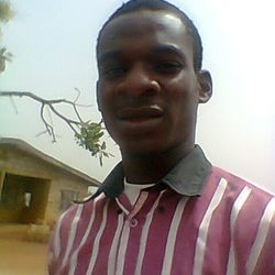 "Adegbulu Paul Ayodele in His youth days ""early 2012"""