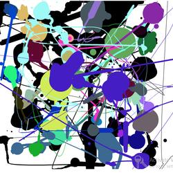 Jackson Pollock style