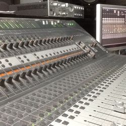 C 24 Studio mixing board at Nashville Trax