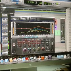 HEQ-1 Pro Tools software plug in ar Nashville Trax