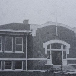 Our current library building circa 1915-1916.