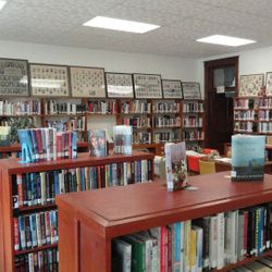 The Adult and Young Adult Reading Room.