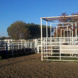 The roping chute and head/heel boxes