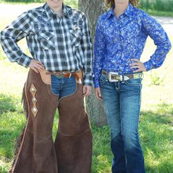 2013 Rodeo Queen Contestants, Shiloh Studt (L) and Torey Goddard (R). Good Luck Ladies!