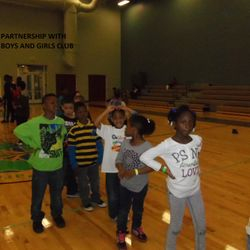 Partnership with Boys and Girls Club