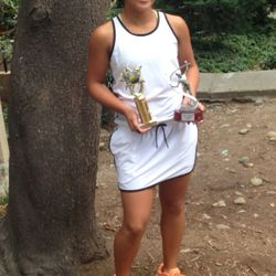 Tameka Peterson, July 12-13 2014, Alameda High Junior Open Girls 14s Singles Champion / Girls 14s Doubles Finalist.