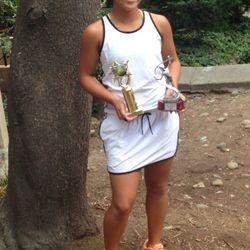 Tameka Peterson, July 12-13 2014, Alameda High Junior Open Girls 14s Singles Champion / Girls 14s Doubles Finalist.