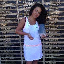 Tameka Peterson, August 16th-17th 2014, NorCal Junior Top 8 Invitational Grand Prix Girls 14s Singles Champion.