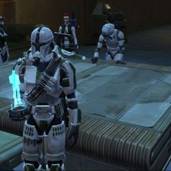 Planning the assault on the Jedi Temple ruins.