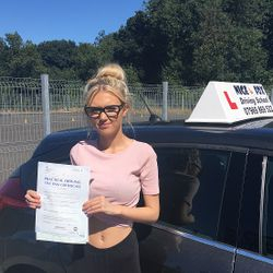 Abbie Passed 3rd Time.