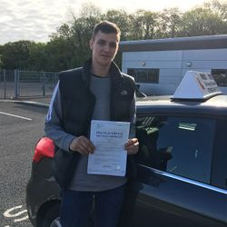 Dalton Passed 1st Time with ZERO faults.