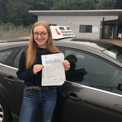 Izzy Passed 2nd Time.