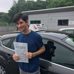 Jonathan Passed 1st Time.