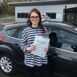 Orla Passed 1st Time.