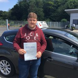 Sam Passed 2nd Time.