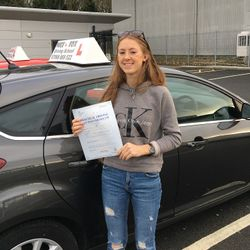 Tanis Passed 2nd Time.